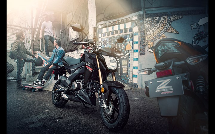 2019 Kawasaki Z125 PRO   Naked Motorcycle   Nimble & Peppy